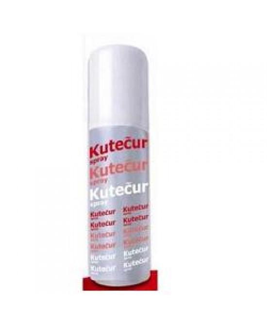 Kutecur Spray Cicatrizzante Ferite e Ustioni 125 Ml