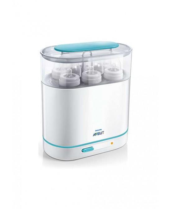 Philips Avent 3-In-1 Sterilizzatore A Vapore Elettrico 3 In1 SCF284/02 - Farmastar.it