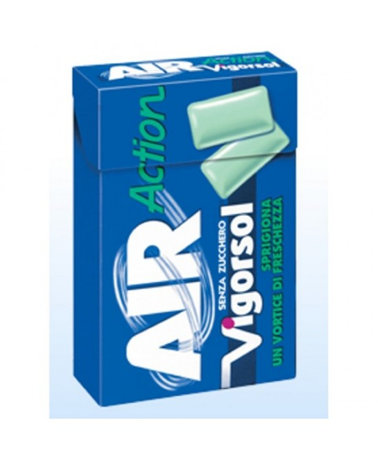 Air Action Vigorsol Senza Zucchero 20 Gomme - Farmaciasconti.it