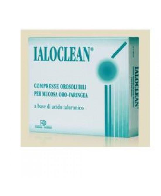 Ialoclean 30 Compresse Orosolubili 1,2g - Zfarmacia