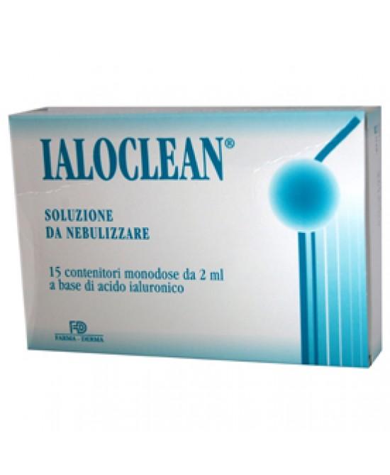 Ialoclean Soluzione Nebulizzata 15 Flaconi 2ml - Zfarmacia