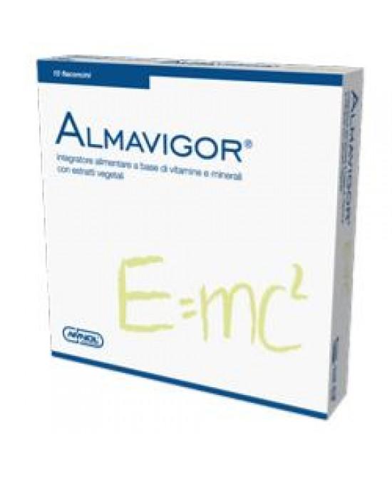 Almavigor Integratore Energetico 10 Flaconi 10 ml