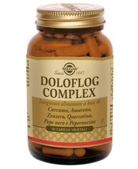 Solgar Doloflog Complex 60 Capsule Vegetali - farmaciafalquigolfoparadiso.it