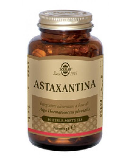 Solgar Astaxantina 30 Perle - Antica Farmacia Del Lago