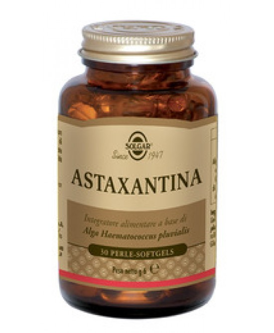 Solgar Astaxantina 30 Perle - Farmacia 33