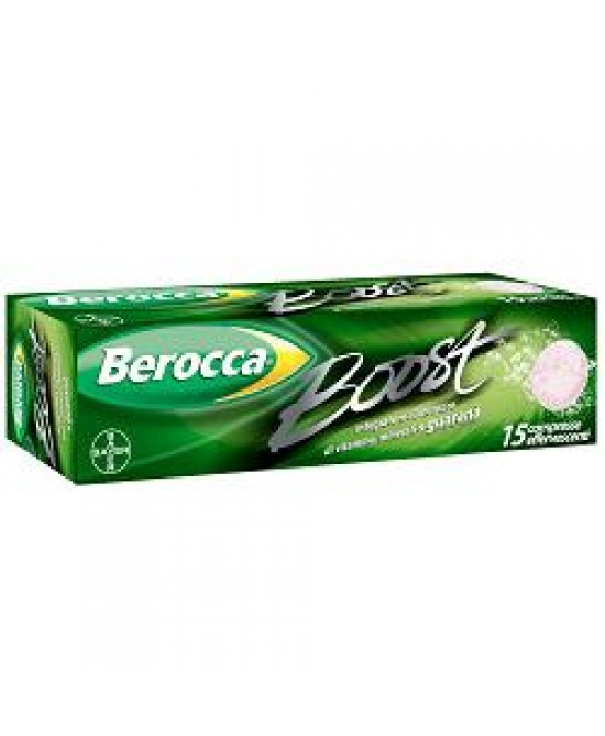 Berocca Boost 15cpr Efferv - Farmapc.it
