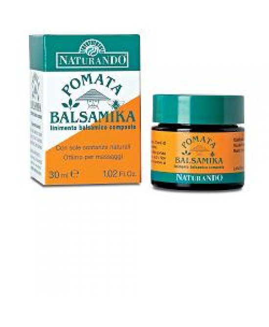 Naturando Pomata Balsamika Lenimento Naturale 30 ml - Farmastar.it