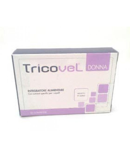 Tricovel Donna Integratore Alimentare 30 Compresse - La farmacia digitale