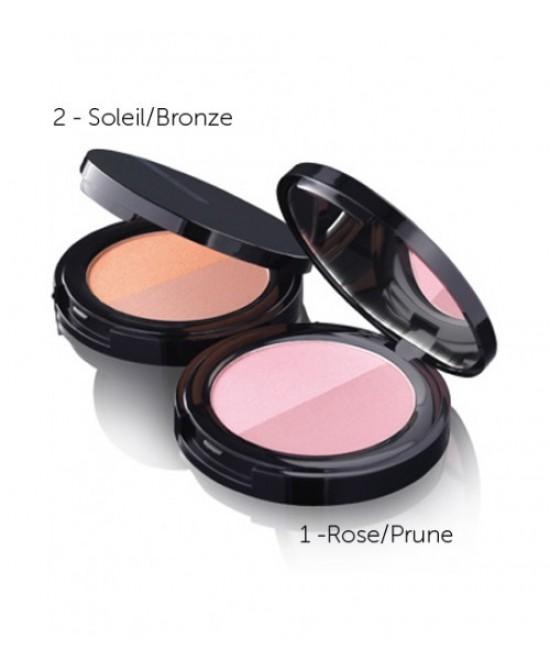 Korff Cure Make Up Fard Idealblush Tonalità 01 Rose/Prune