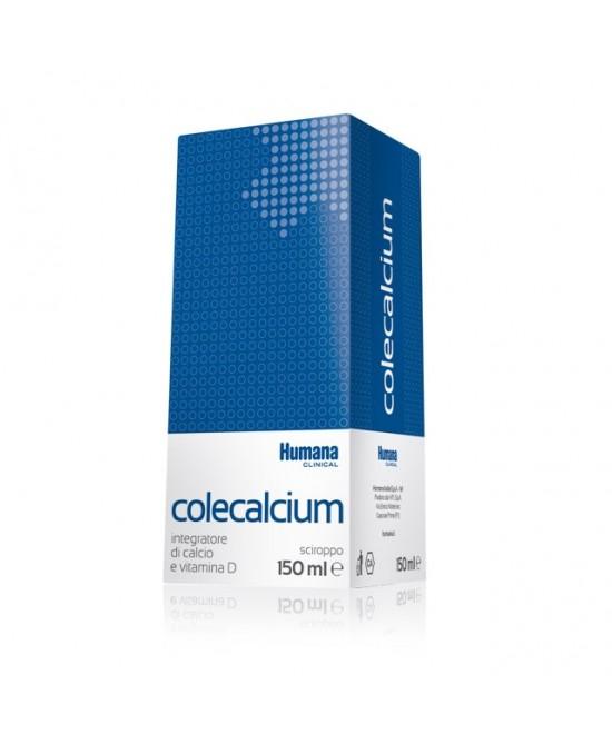 Humana Colecalcium Sciroppo Integratore Alimentare 150ml - Zfarmacia