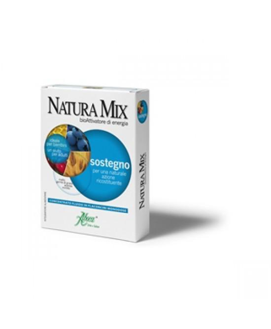Aboca Natura Mix Sostegno Concentrato Fluido 10  Flaconcini In Vetro Da 15g - Farmaciaempatica.it