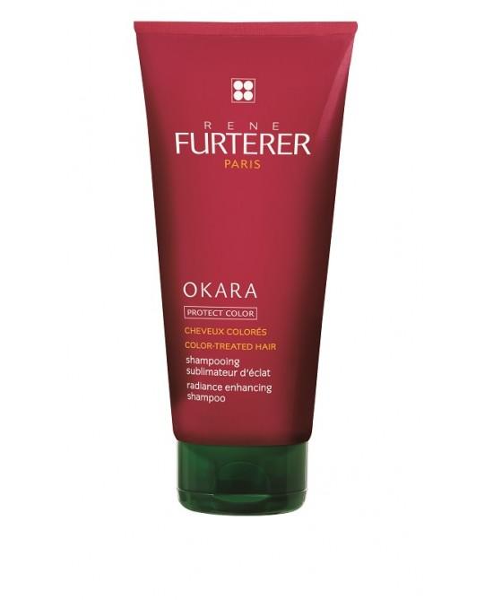 Rene Furterer Okara Protect Color Shampoo Sublimatore Luminosità 100ml - Farmacento