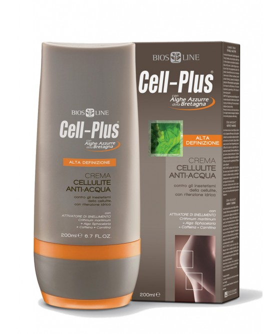 Bios Line Cell-Plus Alta Definizione Crema Cellulite Anti-Acqua 200ml - Iltuobenessereonline.it