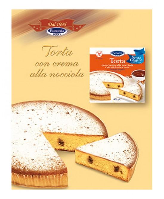 BONONIA TORTA CR NOCCIOLA S/GL prezzi bassi