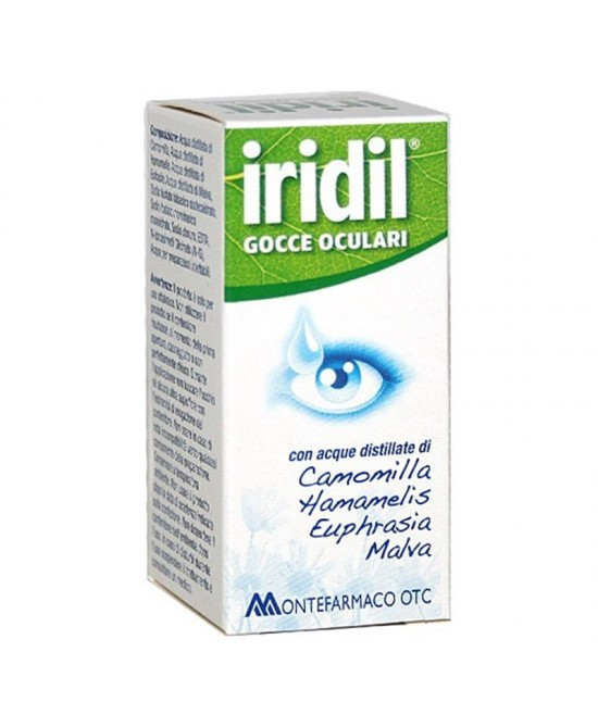 Montefarmaco Otc Iridil Gocce Oculari 10ml - Farmafamily.it