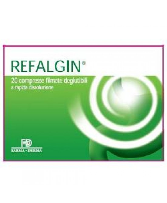 Refalgin 20 Compresse Filmate Deglutibili - Farmapage.it