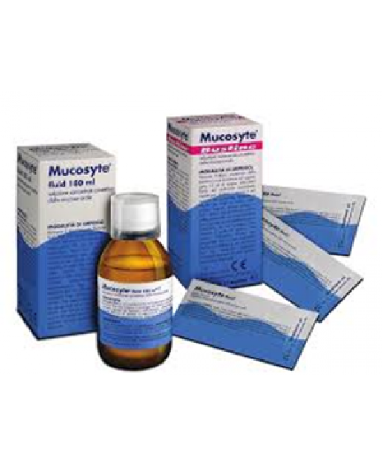 Mucosyte Fluid 12 Bustine 10ml - Speedyfarma.it