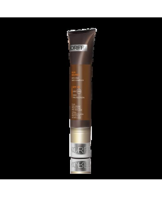 Korff Sun Secret Crema Solare Fluida Protettiva E Anti-Age SPF 30 40ml - Farmabellezza.it