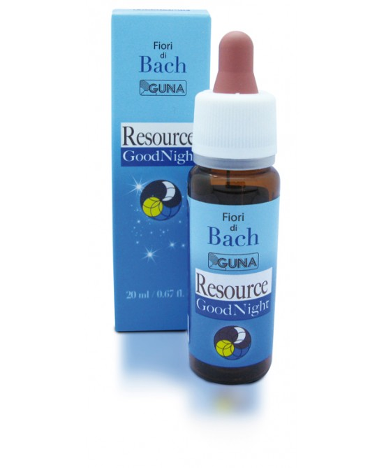 Guna Fiori Di Bach Resource Goodnight Gocce 20ml