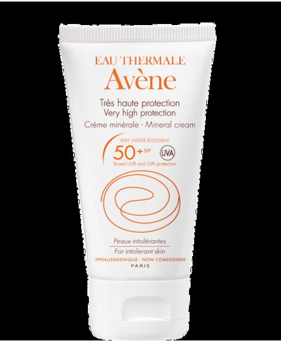 Avène Crema Schermo Minerale Spf50+ Pelle Intollerante 50ml - Farmaciaempatica.it