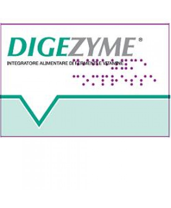 Digezyme 20cpr - Farmabenni.it