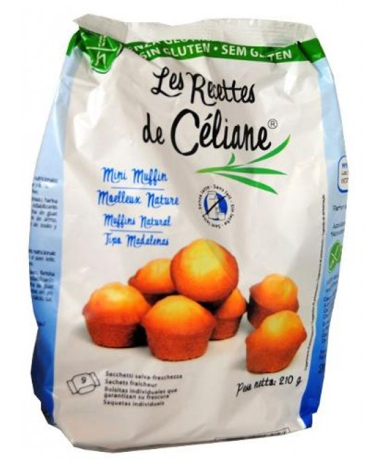 LES RECETTES DE CELIANE MINI MUFFIN SENZA LATTE 210 G - Farmaciacarpediem.it