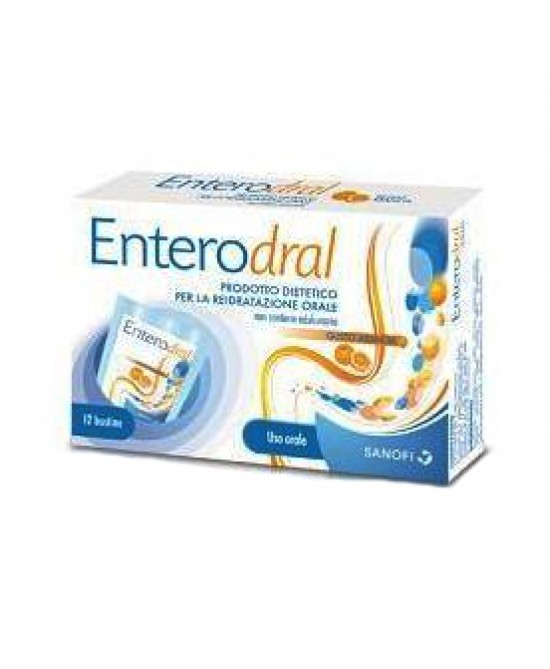Enterodral 12 bustine Reidratazione Orale