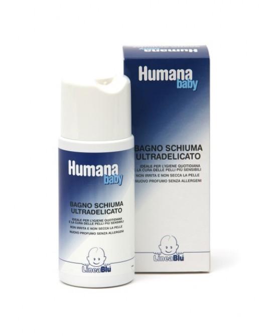 Humana LineaBlu Bagnoschiuma Ultradelicato 500ml - Farmacia 33