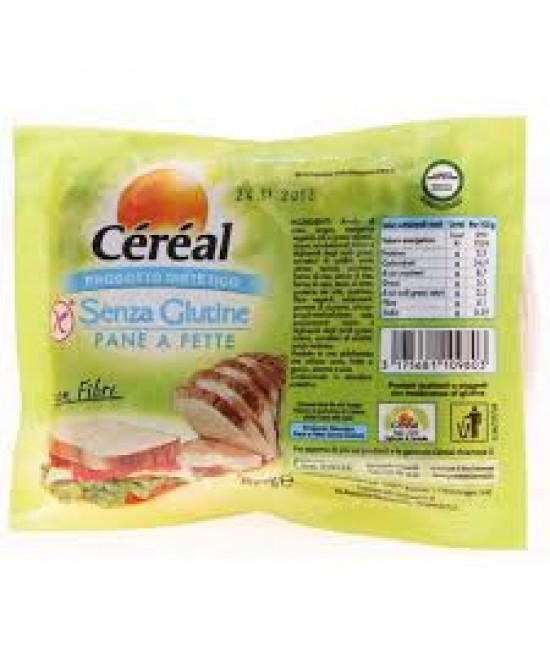 Céréal Pane A Fette Senza Glutine 200 g