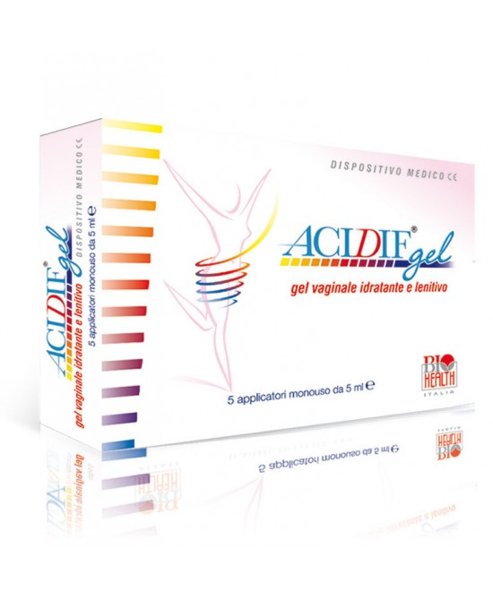 Acidif Gel Vaginale Idratante E Lenitivo 5 Applicatori Da 5ml - Zfarmacia