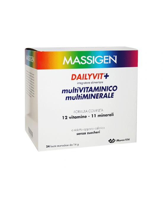 Massigen Dailyvit Integratore Multivitaminico-Multiminerale 24 Bustine