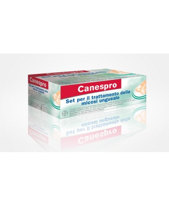 CANESPRO KIT PER TRATTAMENTO MICOSI UNGUEALE COMPOSTO DA 22 CEROTTI + 1 RASCHIETTO + UNGUENTO UREA 40% 10 G - Farmabros.it
