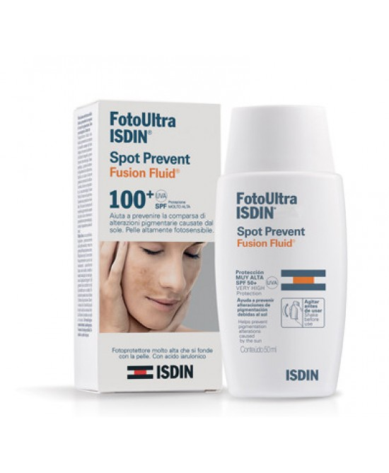 Isdin FotoUltra Spot Prevent Fusion Fluid Spf 100+ 50ml - Zfarmacia