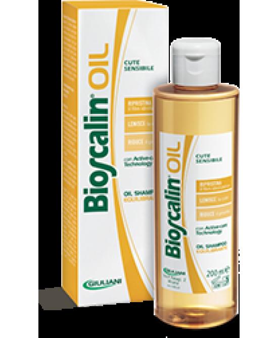 Bioscalin Oil Shampoo Sebo Equilibrante 200ml - Zfarmacia