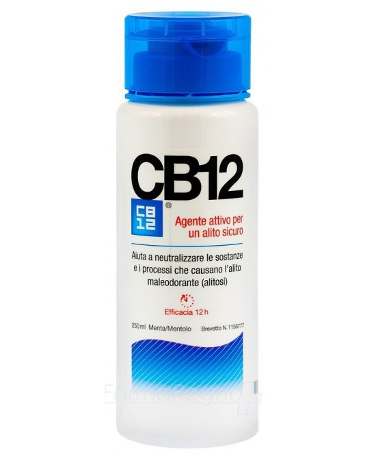 CB12 Collutorio Trattamento Alitosi 250ml - Farmafamily.it