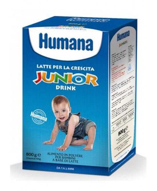 Humana Junior Drink 800g Latte Di Crescita - Farmabros.it