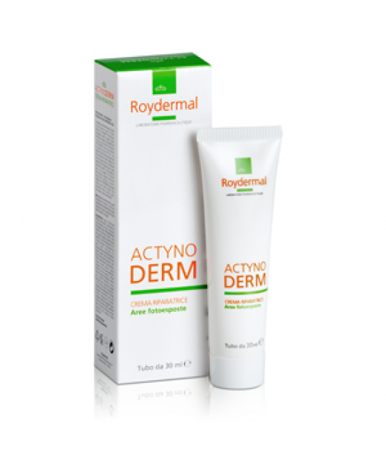 Roydermal Actynoderm Crema Riparatrice Aree Fotoesposte 30ml - Farmastar.it