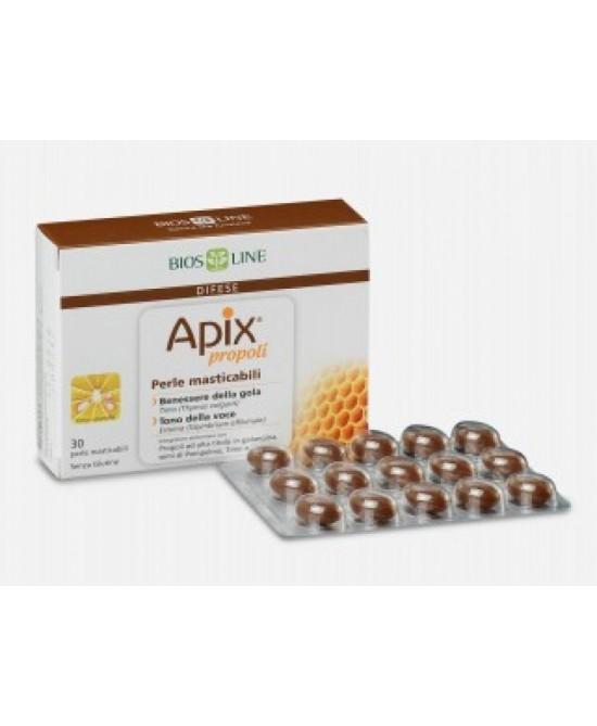 Bios Line Apix Propoli Integratore Alimentare 30 Perle Masticabili - Farmalandia