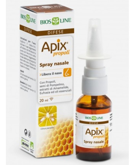 Bios Line Apix Propoli Spray Nasale 20ml