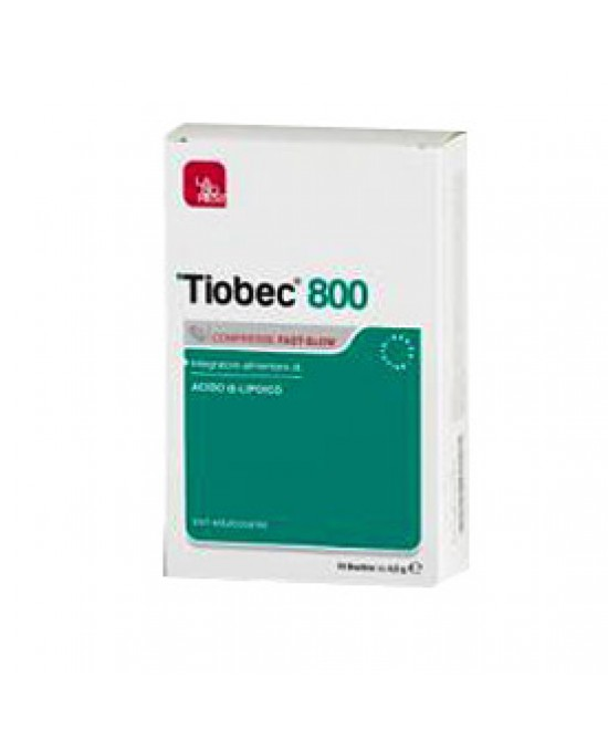 Tiobec 800 20cpr 32g - Farmastar.it