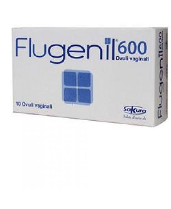 Flugenil 600 Ovuli 10 Ovuli - La farmacia digitale