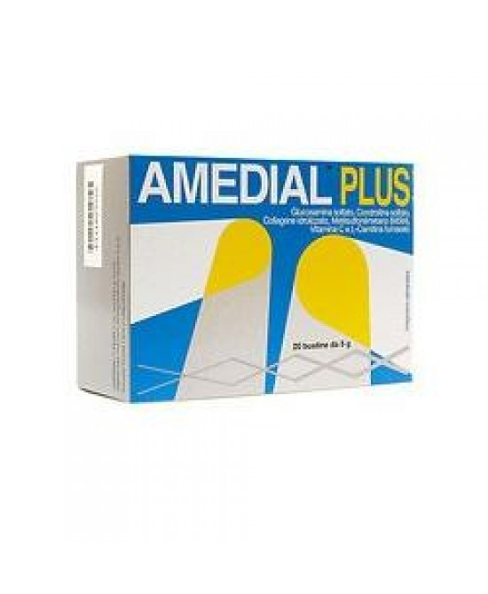 Amedial Plus Integratore Alimentare 20 Bustine da 5gr - Farmabros.it