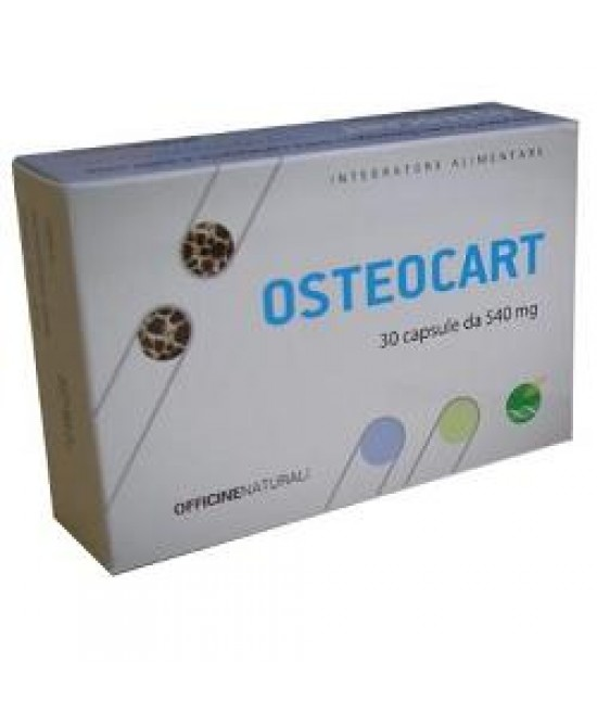 Osteocart 30cps 540mg - Farmastar.it
