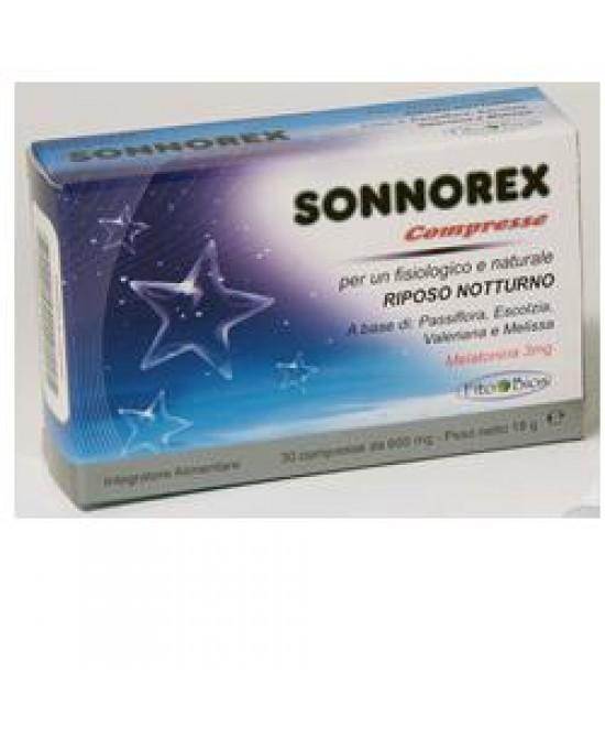 Sonnorex Integratore Riposo Notturno 30 Compresse