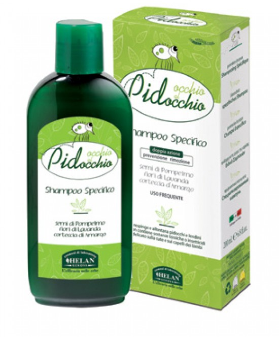 Helan Occhio al Pidocchio Shampoo Specifico