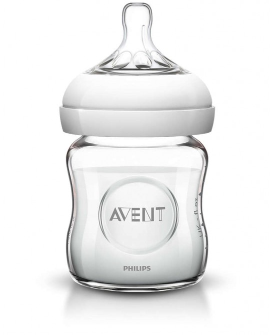 Philips Avent Biberon Natural In Vetro 120ml - Farmaciaempatica.it