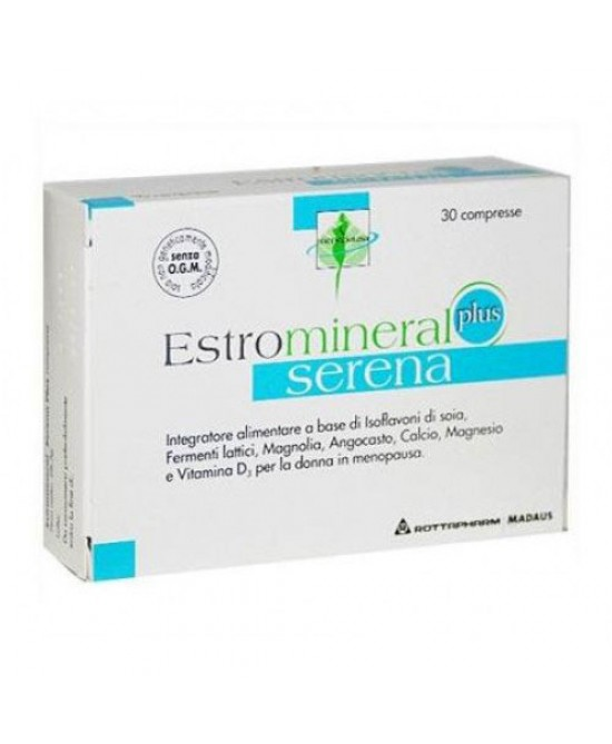 Rottapharm Estromineral Serena Plus  Integratore Alimentare 30 Compresse - Farmafamily.it