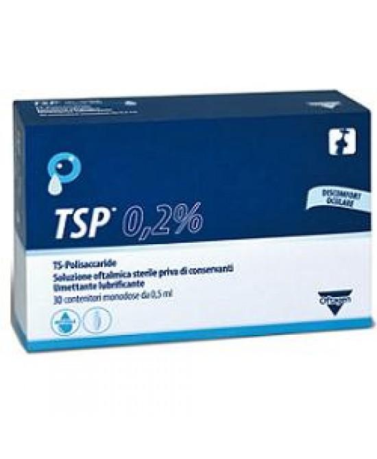 TSP 0,2 % Soluzione Oftalmica Sterile 30 Flaconcini