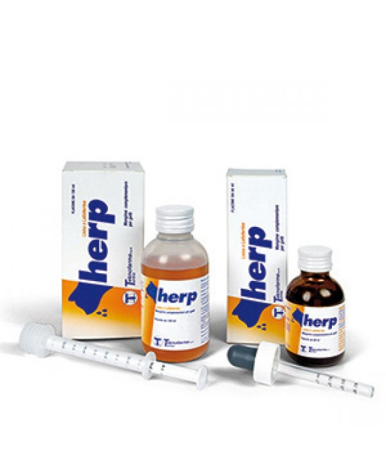 Teknofarma Herp Mangime Complentare 50ml - Farmapc.it