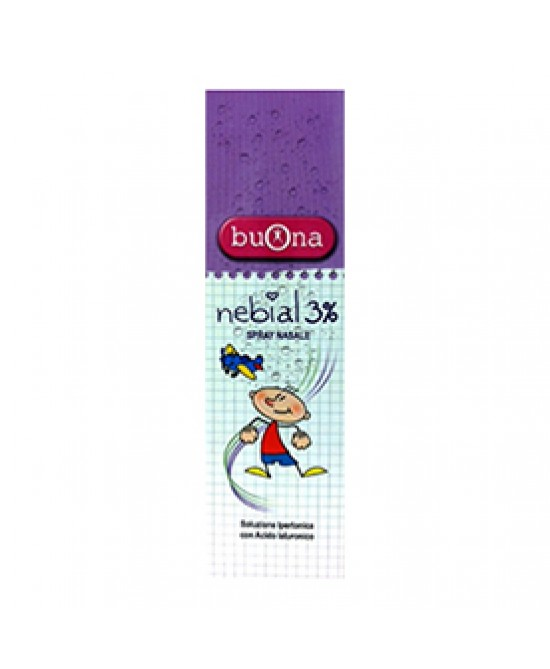 Nebial 3% Spray Nasale 100ML - Farmajoy